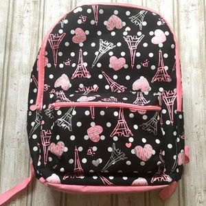 Justice Sparkly Paris Backpack